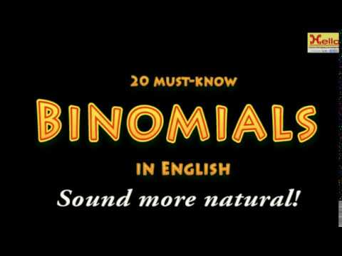 what-are-binomials-in-the-english-language?-||-these-expressions-help-us-sound-more-natural-&-fluent