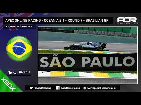 F1 2017 - AOR XB1 Oceania F1 - Season 1 - Round 9 - Brazilian GP