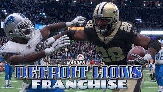 Madden NFL 18 Detroit Lions Franchise - Detroit Lions vs New Orleans Saints (EP6 Lions vs Saints)
