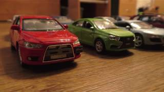 Various Toy Car Models Changing Location (Video for Kids)