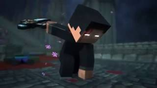 Minecraft : Thunder | My first animation song.