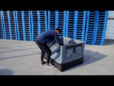 Plastic pallet container, Bulk plastic containers wholesale