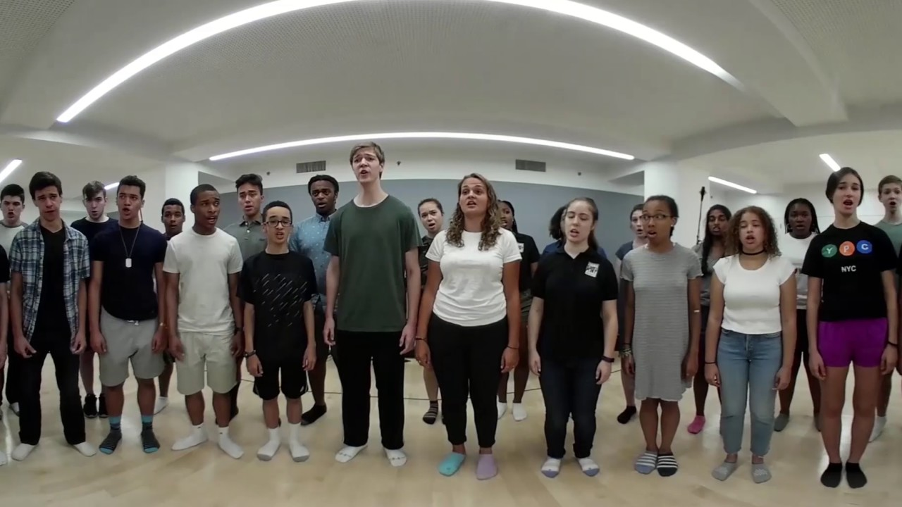 360°—Young People's Chorus of New York City Rehearses Mozart's Kyrie
