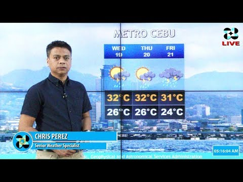 Public Weather Forecast Issued at 4:00 AM September 18, 2018