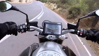 driving new 2015 bmw motorrad r 1200 r roadster thundergrey boxer 2 125 hp 125 nm