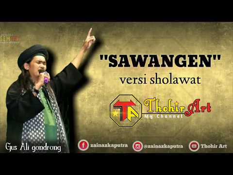 Sawangen Versi Sholawat Lirik Gus Ali Shodikin