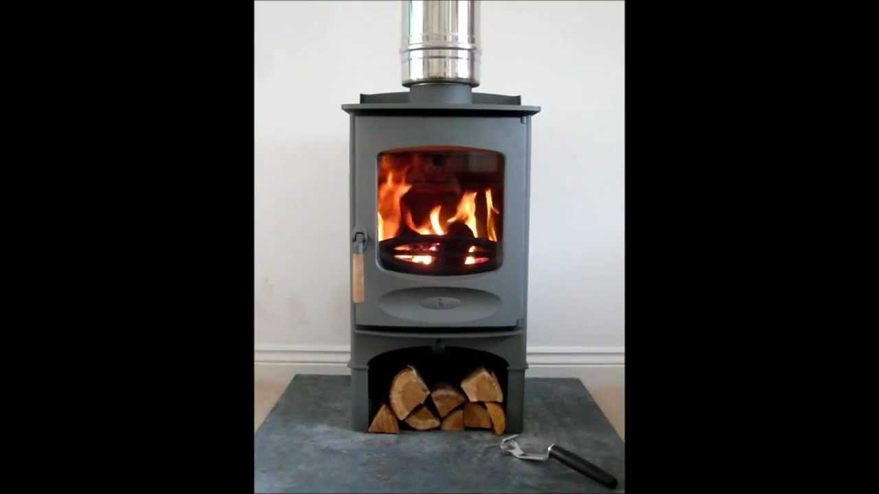 charnwood c four wood burning stove falmouth kernow fires redruth cornwall youtube. Black Bedroom Furniture Sets. Home Design Ideas