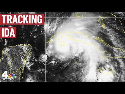 Ida makes landfall in Louisiana as 'catastrophic' Category 4 hurricane