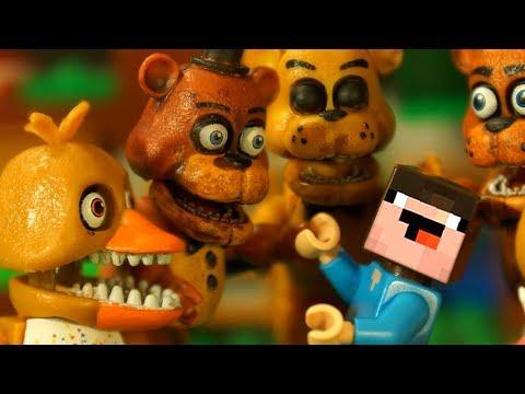 ГОЛДЕН НУБик и ФРЕДДИ - Лего ФНАФ Песня Мультики - LEGO Minecraft FNAF Anination Мультфильмы
