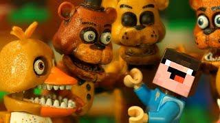 - ГОЛДЕН НУБик и ФРЕДДИ Лего ФНАФ Песня Мультики LEGO Minecraft FNAF Anination Мультфильмы