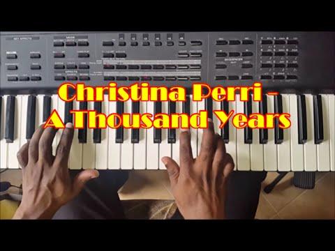 A Thousand Years Easy Piano Tutorial  How To Play  Christina Perri