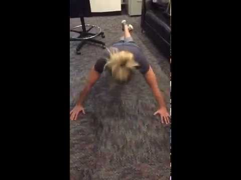 Kristin Does The 22 Push-Up Challenge To Raise Awareness For Veteran Suicide