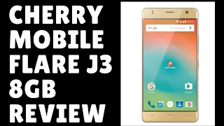 Cherry Mobile Flare J3 8GB (Gold)  unboxing and Lazada review