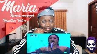 MARIA - NEVER ENOUGH (Loren Allred) - Spekta Show Top 7 - Indonesian Idol 2018 REACTION VIDEO Video