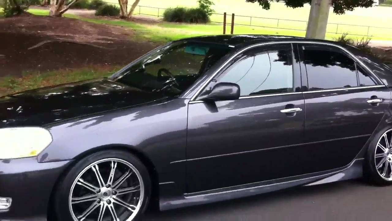Toyota mark ii ir-v jzx110 manual monster @ edward lee's youtube.