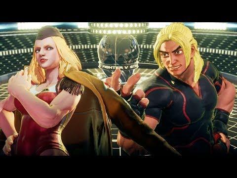 Street Fighter V:AE (PC), Online Gameplay [01], Random Ranked Matches