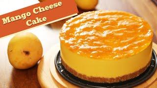 Mango Cheesecake | Gelatin Free Dessert Recipe | Divine Taste With Anushruti