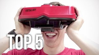 Top 5 Weirdest Game Consoles!