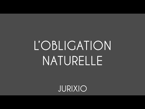 hqdefault - Les obligations naturelles