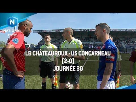 J30 : LB Châteauroux - US Concarneau (2-0), le résumé