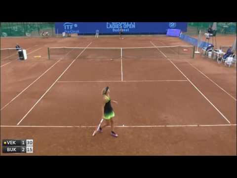 Vekic Donna v Bukta Agnes - 2016 ITF Budapest