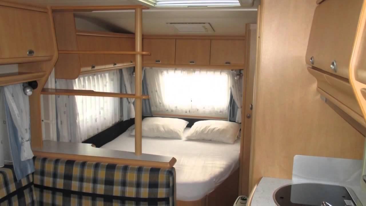Caravan te koop: HOBBY LUXE 560 KMFE 2002 - YouTube