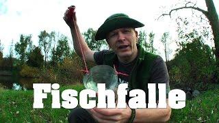 SURVIVAL Fischfalle Tierische Notnahrung