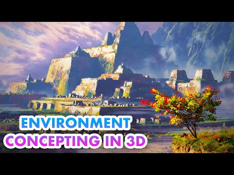 Environment Concepting in 3D