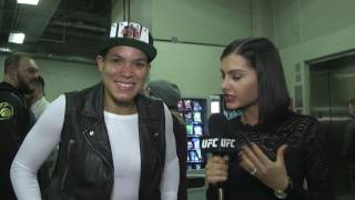 UFC 207: Amanda Nunes Backstage Interview