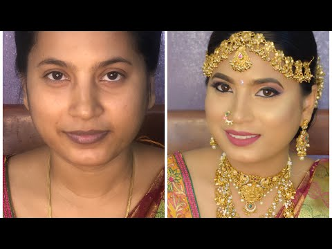 South Indian makeup look for medium skin | Instaglam makeovers