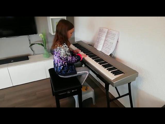 Jelena Gnessina, Etüde C-dur (NH)