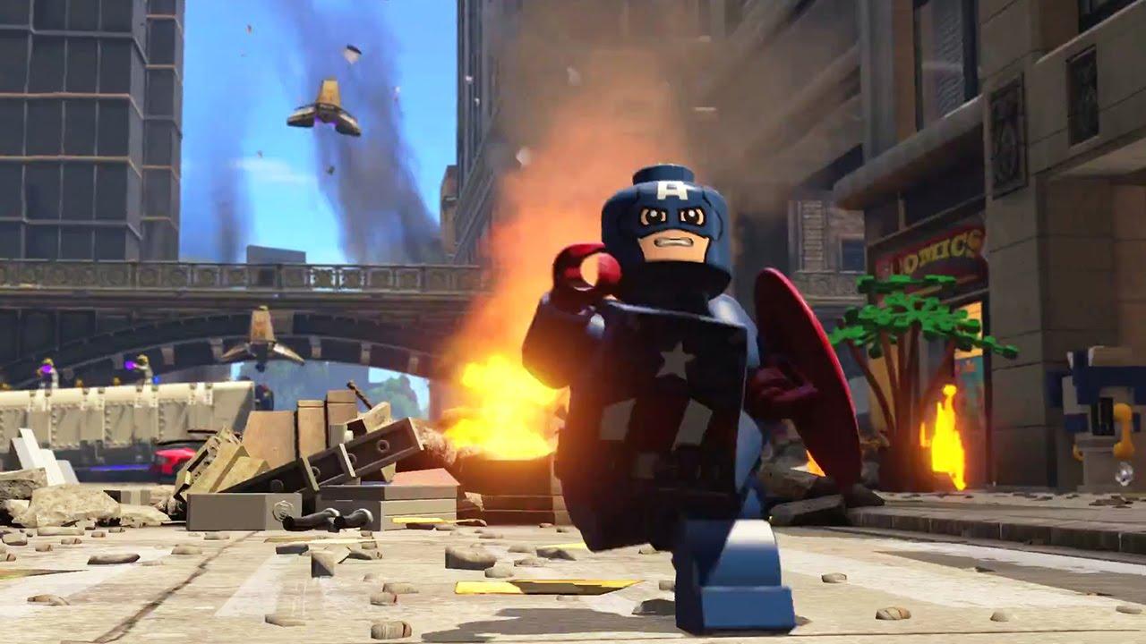 LEGO Marvel's Avengers Trailer (PS4 / Xbox One) - YouTube