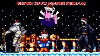 Retro Christmas Games Stream! LetemcomeInit
