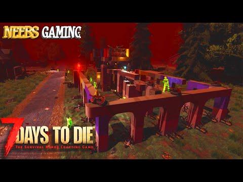 7 Days To Die: Horde Night 21 - Rainbow Base