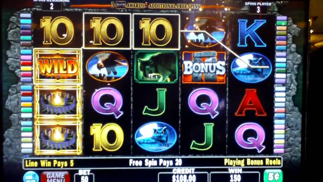 Slot Machines With Bonus Rounds