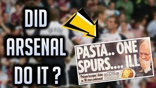 """Did Arsenal give Tottenham """"Food Poisoning"""" for the Champions League? (Football Conspiracies)"""