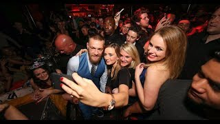Conor McGregor and his very expensive party after a fight with Mayweather at Las Vegas Nightclub