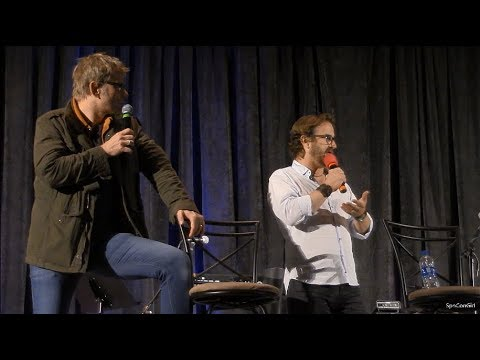 SpnPitt 2018 Mark Pellegrino and Richard Speight Jr. Panel Supernatural