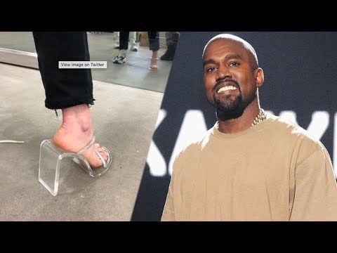 Kanye West UNVEILS New Torture Device! Calls Them Shoes…