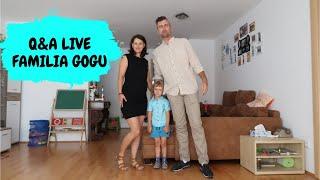 Q&A LIVE!!! Familia Gogu