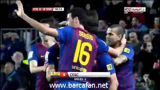 Barcelona 4 - 0 Osasuna Maç Özeti