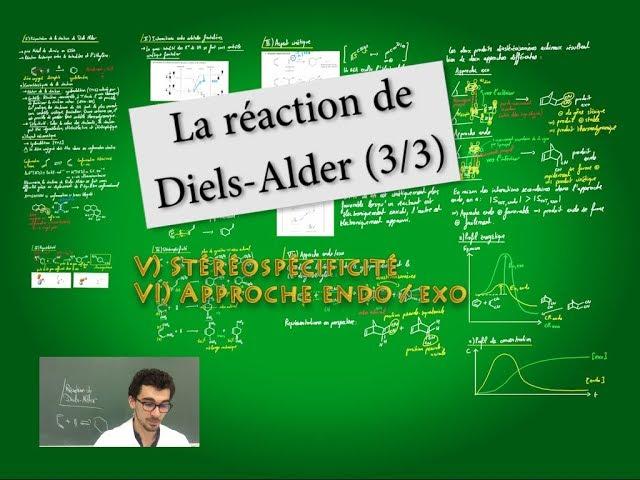 Réaction de Diels-Alder (3/3)