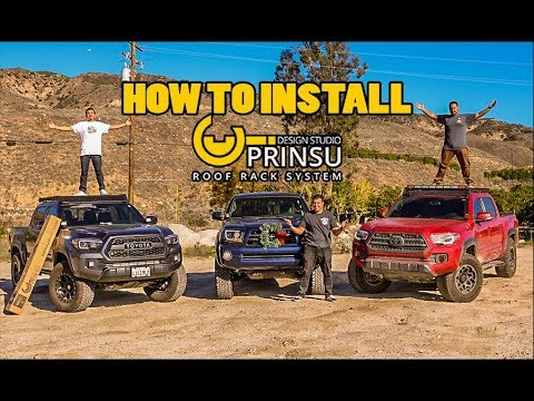 PRINSU ROOF RACK DETAILED INSTALL ON TOYOTA TACOMA | FOR EVERY TACOMA OWNER