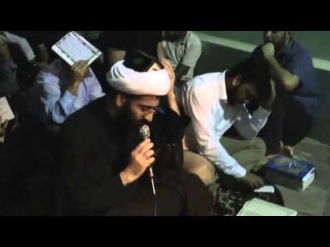 Imam Huseyn mescidinde 3-cu qedr gecesi.