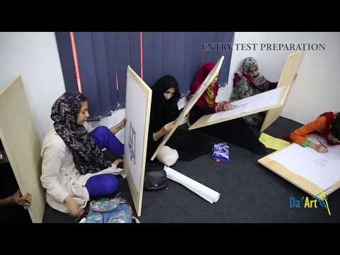 Entry Test Preparation Class for Art Colleges Admission Test