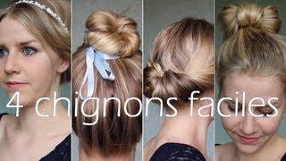 ✄ 4 jolis chignons faciles ! Thumbnail
