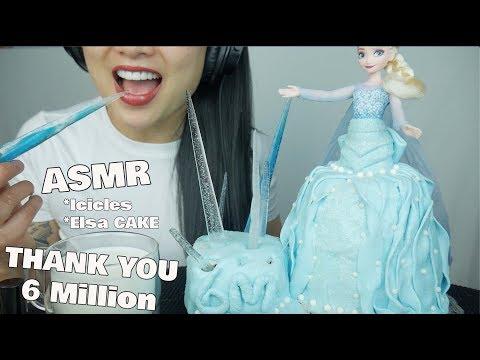 asmr-edible-elsa-cake-frozen-icicles-(eating-sounds)-no-talking-|-sas-asmr-*thank-you-for-6m