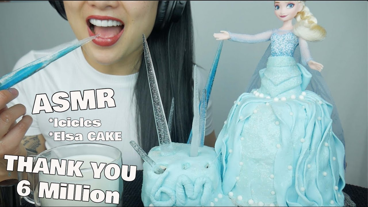 Asmr Edible Elsa Cake Frozen Icicles Eating Sounds No Talking Sas Asmr Thank You For 6m Youtube You'll find a variety of asmr videos covering numerous triggers. asmr edible elsa cake frozen icicles eating sounds no talking sas asmr thank you for 6m