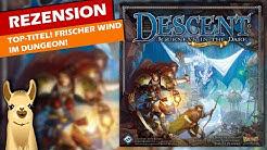 Descent: Zweite Edition (Spiel) / Anleitung & Rezension / SpieLama