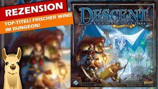 """""""Descent 2 - Die Reise ins Dunkel (Zweite Edition)"""" im Test von SpieLama"""